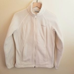 Columbia Fleece Jacket Full Zip Sz Small